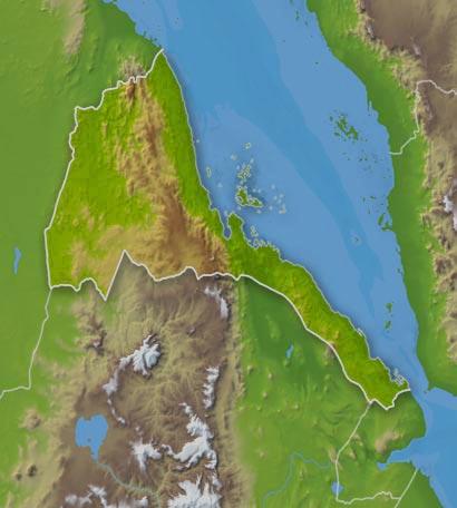 Weather Eritrea - Eritrea time zone map