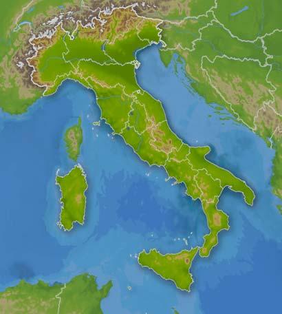 wetter italien karte Wetter Italien