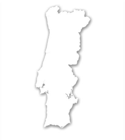 mapa de portugal branco Weather stations mapa de portugal branco