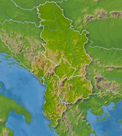 serbien wetter