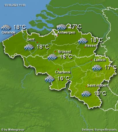 Wetter Belgien