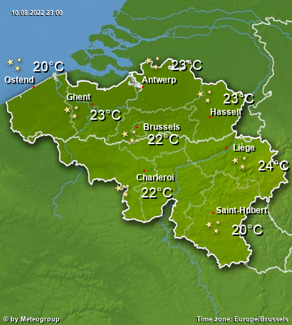 Weather Belgium