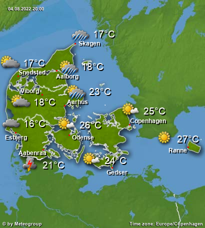 Weather Denmark