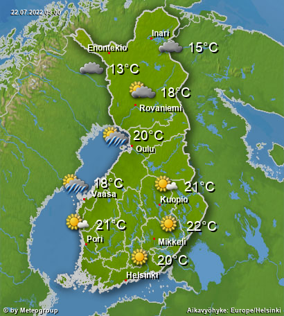 Sää Suomi