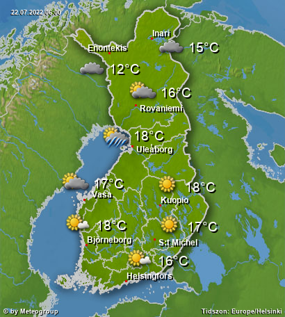 Väder Finland