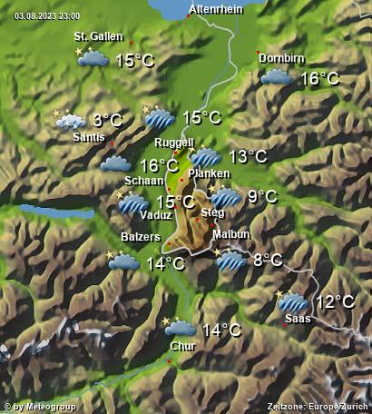 Wetter Liechtenstein