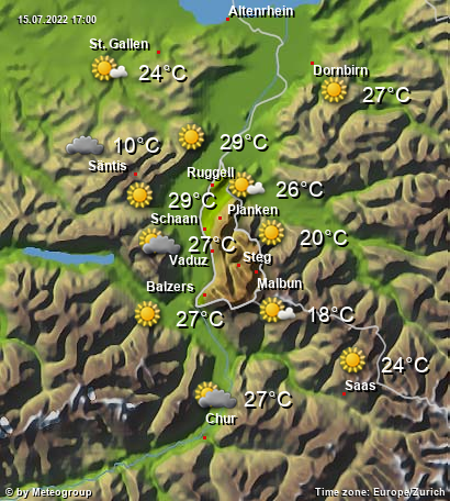 Weather Liechtenstein