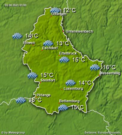 Wetter Luxemburg