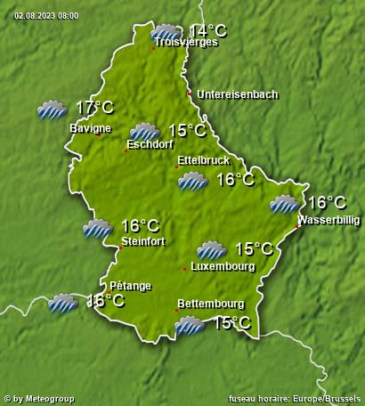 Météo Luxembourg