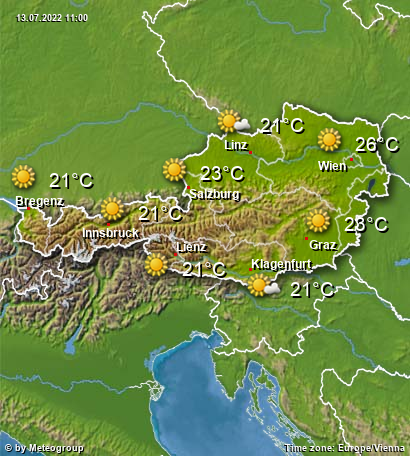 Weather Austria
