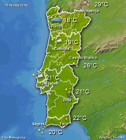 Wetter Portugal