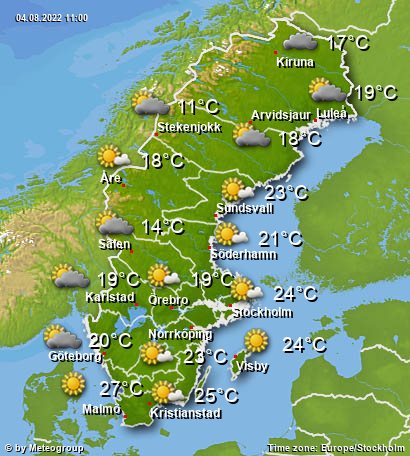 Weather Sweden
