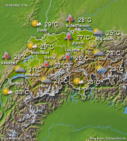 Weather Switzerland