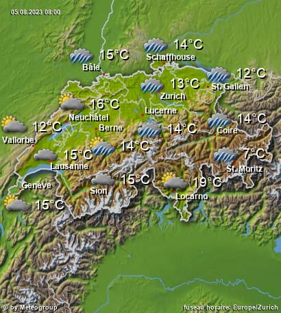 Météo Suisse