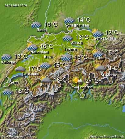 お天気 スイス