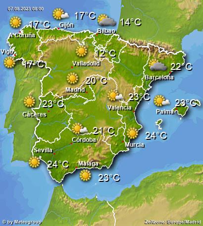 Wetter Spanien