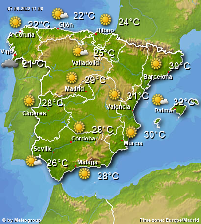Weather Spain